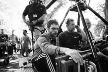 Xavier Dolan en plein tournage