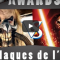 Cult'N'Click Awards Cinema, Plus grosse claque visuelle, meilleur comédie 2015...