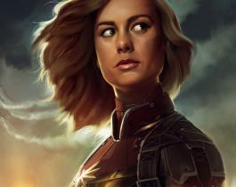 Les premières images de Captain Marvel !