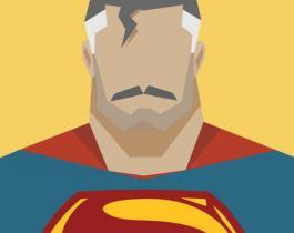 Superhéros v Le Temps en artwork