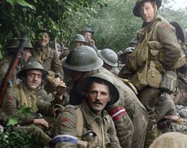 Peter Jackson colorise la première guerre mondiale