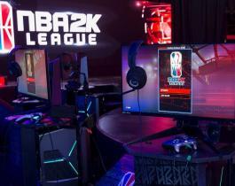 La ligue NBA 2k fait ses débuts