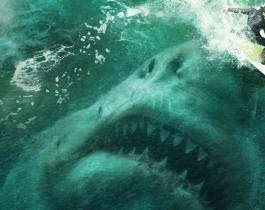 The Meg : Statham a les crocs